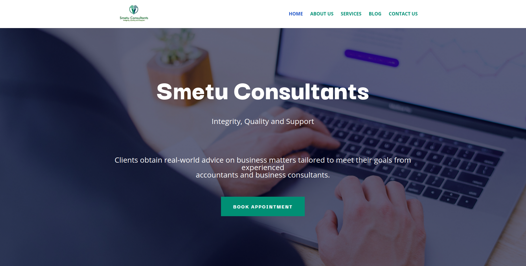 Smetu Consultants Budget Website Deign